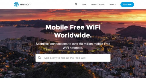 Wiman Launches Global Free WiFi Online Discovery Solution