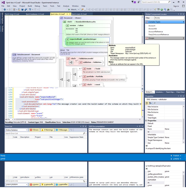 Visual studio xml editor schema validation wire center extend microsoft visual studio 2017 with liquid technologies xml and rh newswire com xml diagram visual studio 2010 ccuart Images