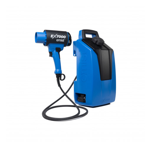 Speck Design and EMist Collaborate on COVID-Fighting Electrostatic Sprayer