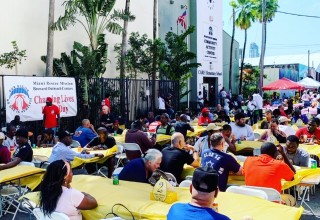Easter celebration with the Miami Homeless