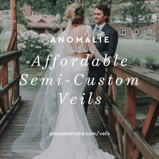 Online Custom Bridal Gown Company Anomalie Celebrates Second Anniversary and Launch of Semi-Customizable Veil Collection