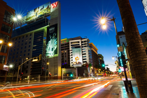 SILVERCAST Media Adds Iconic Outdoor Signage on Hollywood Boulevard