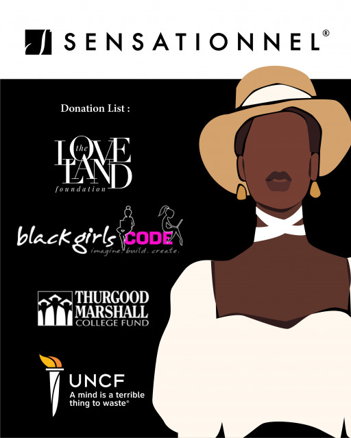 Sensationnel Hair Gives Back to Non-Profit Organizations Catered to Black Women, Children, and Students