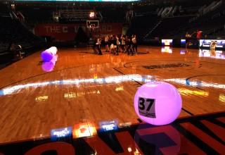 Xylo Balls Customized to Light Up the Crowd at the Phoenix Mercury for the Arizona Lottery