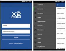 X2CRM for Android & iOS