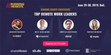 Running Remote Conference - World's Largest Remote Work Event - 29-30 June 2019