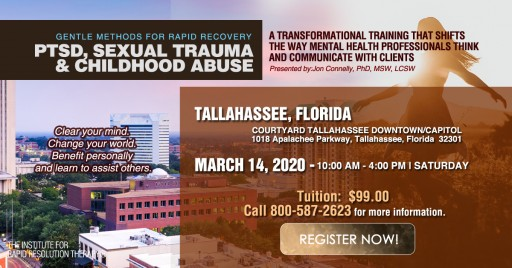 Training Workshops for Therapists Who Treat PTSD and Childhood Abuse Offered by the Institute for Rapid Resolution Therapy in West Palm Beach and Tallahassee