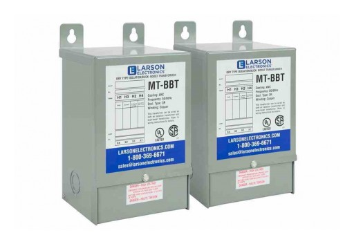 Larson Electronics Releases Step-Down Buck/Boost Transformer, Delta 3-Phase, 480V Primary, 440V Secondary