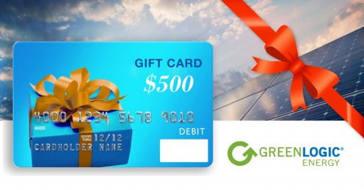 Go Solar and Receive a $500 Gift Card From GreenLogic