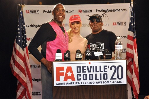 Adult Star Cherie DeVille Announces Presidential Run - Coolio to Serve as Running Mate