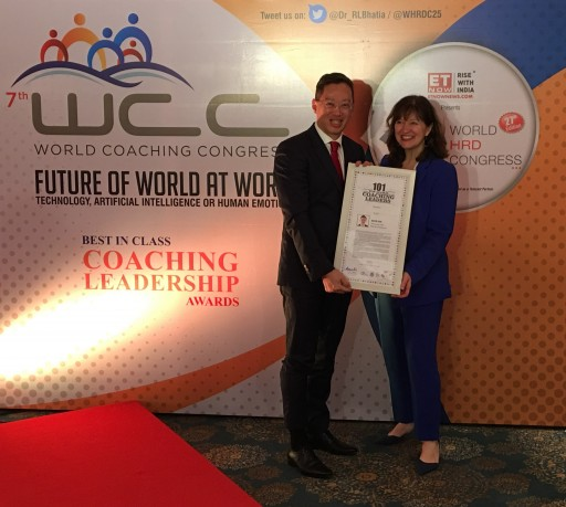 'Bamboo Ceiling' Campaigner Named in 101 Top Global Coaching Leaders in the World