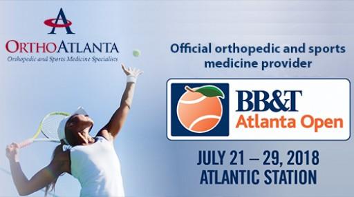 OrthoAtlanta an Official Partner of the 2018 BB&T Atlanta Open