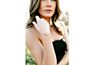 First Lady's Luncheon Swarovski Crystal Slider Bracelet