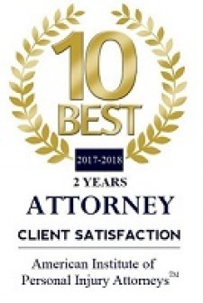 Two Years 10 Best Personal Injury Attorneys for Client Satisfaction