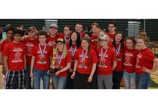 Winning Science Olympiad Team