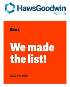 HawsGoodwin Wealth Named to the Inc. 5000 List