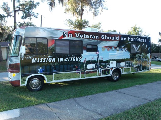 Walmart Gives the Mission in Citrus $50,000 to Start Angels on Wheels for Homeless Veterans