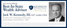 Jack W. Kennedy, III, Best-In-State Wealth Advisor