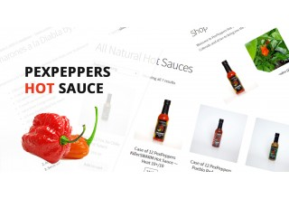 PexPeppers Hot Sauce