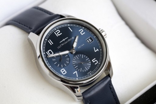 Watches News: Ultramarine Launches Its New Morse Watch Model