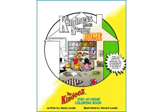The Kindeez Stay-at-Home Coloring Book Cover