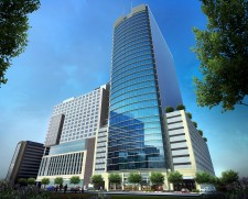 Rendering of Medistar's New Medical Tower at Texas Medical Center