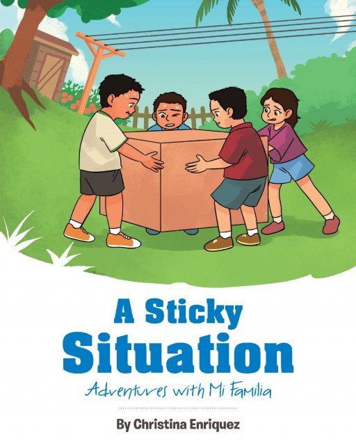 Christina Enriquez's Newly Released 'A Sticky Situation' Shares a Delightful Tale of Four Cousins' Playful Day Outdoors
