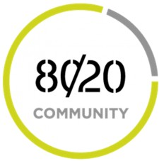 80/20 Community recently launched in beta mode.