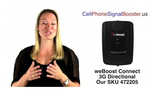 weBoost Connect 3G Directional | weBoost 472205 Cell Phone Signal Booster