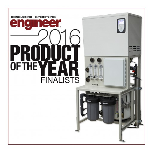 DriSteem's Low-Maintenance Humidification System Named Finalist in Consulting Specifying Engineer 2016 Product of the Year Awards