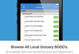 The JustBOGOS app allows you to browse Publix, Winn-Dixie, Sedano's BOGO sales in a consolidated location