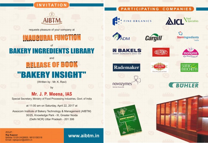 AIBTM's New Publication Bakery Insight and Bakery Ingredient Library launch