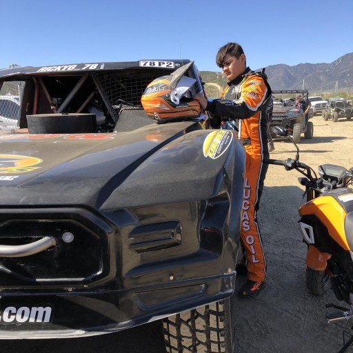 Youngest-Ever Lucas Oil Off Road Pro 2 Driver Ricky G Debuts Skills