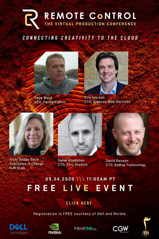 Top Leaders in Media and Entertainment Reinventing Hollywood Through New Tools in Virtual Production and Remote Collaboration