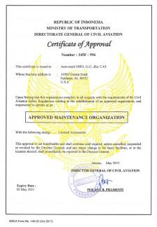 DGCA Certificate