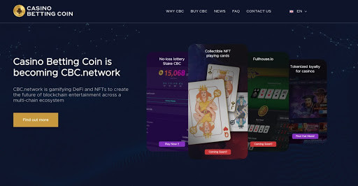 Casino Betting Coin to Become CBC.network