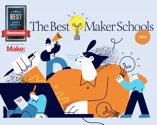 Make: Partners With Newsweek to Launch 'Best Maker School' Series
