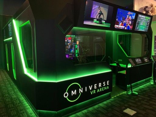 Virtuix Debuts VR ARENA at Dave & Buster's in Austin, Texas