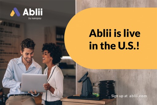 Goodbye checks and wires! Ablii now offers payments to businesses in the U.S. and Canada.