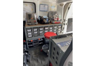 A Lenny Locksmith Inside West Palm Beach Work Van