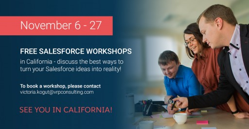 Salesforce workshops in California