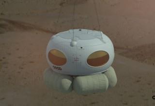 Bloon pod - Landing phase