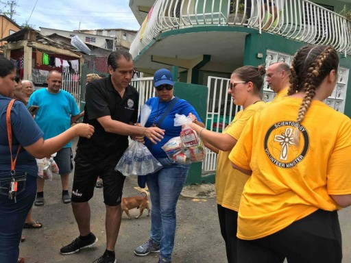 Bringing Supplies to Those in Need in Puerto Rico