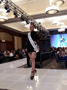 Who Is Miss Teen Wonderland International At Couture Fashion Week Spring 2019?