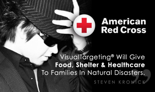 VisualTargeting® Sponsors American Red Cross: Steven Kronick Announces Family Support Pledge