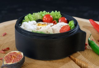 New Modular Lunch Bowl is made from PBA-free recyclable plastic