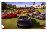 EXOTIC CARS ON THE FAIRWAY AT MISSION INN.