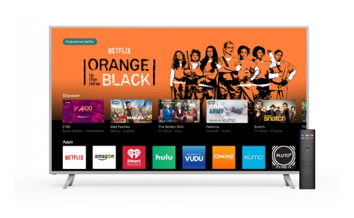 All-New VIZIO SmartCast TV(SM) Brings Apps to the Big Screen for Quick Access to TV Shows, Movies and Music