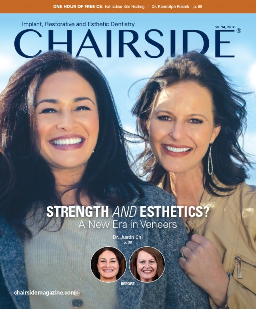 Latest Issue of Chairside Magazine Features Interview With Implant Advocate and Social Media Personality Dr. Philip Gordon