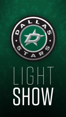 Dallas Stars Light Show app